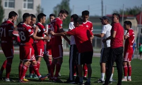 «Актобе-Жас» потерпел четвертое поражение подряд в матче Первой лиги