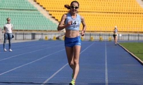 Казахстанская спортсменка завоевала «бронзу» на открытом чемпионате Беларуси по спортивной ходьбе
