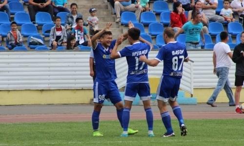 «Акжайык» минимально обыграл «Экибастуз» в матче Первой лиги