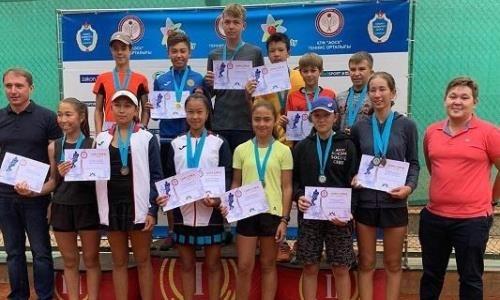Школьник из Тараза выиграл «золото» турнира ATF Junior в Алматы