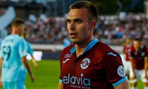 Казахстанский футболист схлопотал удаление при счете 5:1 в пользу его европейского клуба