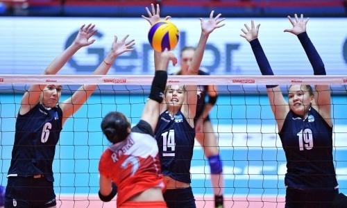 Женская команда Казахстана обыграла Тайбэй и стала пятой на чемпионате Азии