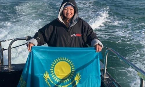 Касым-Жомарт Токаев восхитился казахстанкой, сумевшей переплыть Ла-Манш