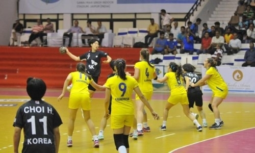 Казахстанские гандболистки уступили в полуфинале чемпионата Азии до 18 лет