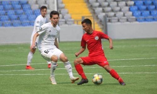 «Мактаарал» разгромил «Астану М» в матче Первой лиги