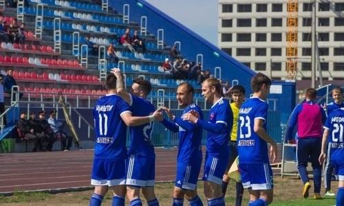 «Акжайык» добывает три очка в Темиртау в матче Первой лиги