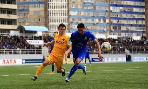 «Каспий» одержал четвертую победу кряду в матче Первой лиги