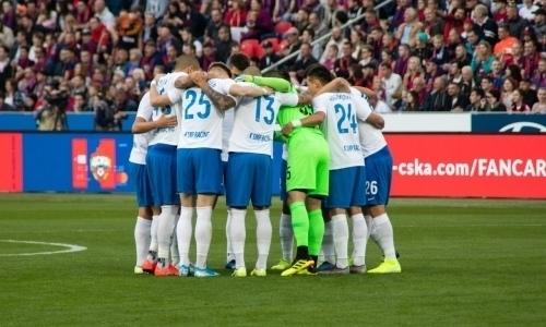 Российский клуб Бахтиярова одержал первую победу вчемпионате