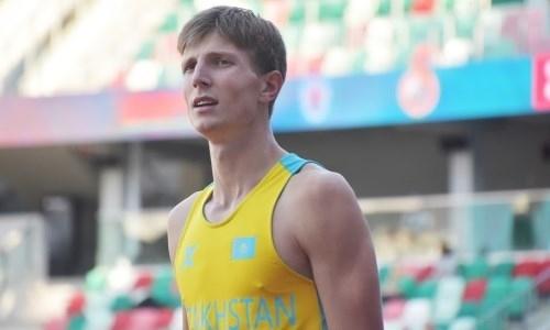 Казахстанский легкоатлет завоевал «серебро» на открытом чемпионате Беларуси
