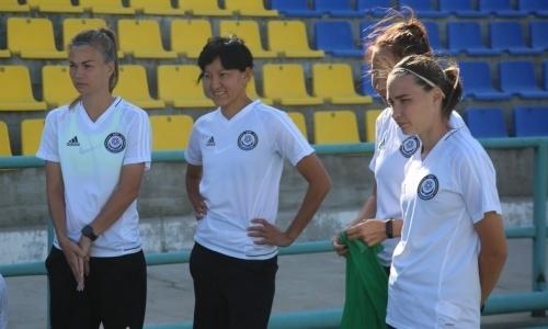 Женская сборная Казахстана стартовала с поражения 0:3 в отборе ЕВРО-2021