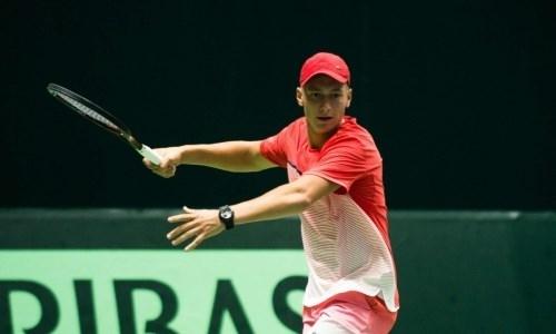 Казахстанец стал победителем в паре и финалистом в одиночке турнира ITF Futures в Украине