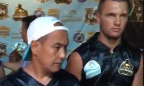 21-летний казахстанский супертяж дебютировал в профи с нокаута за 115 секунд