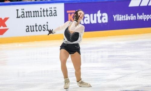 Российская соперница Турсынбаевой допустила несколько ошибок во время контрольного проката