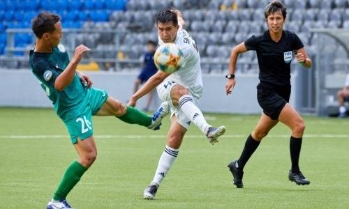 Игрок «Астаны» присоединился к молодежной сборной Казахстана