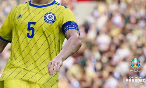 Сборная Казахстана официально включена в «Pro Evolution Soccer 2020»