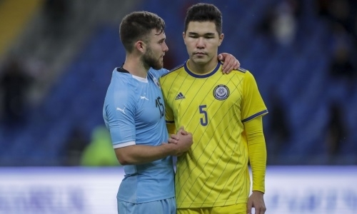 Видеообзор драматичного матча отбора молодежного ЕВРО-2021 Казахстан — Израиль с незабитым пенальти