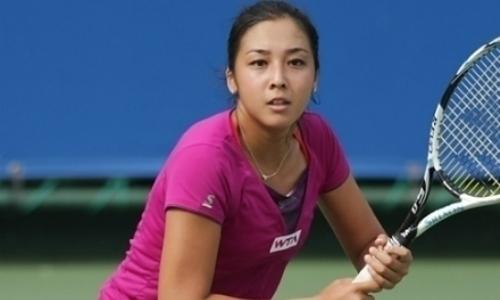 Дияс завершила выступление на турнире в Японии