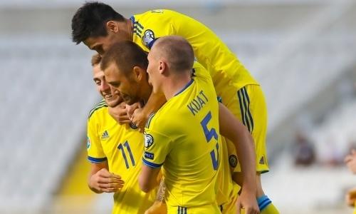 «Результат неудовлетворительный». Форвард сборной Казахстана оценил шансы на третье место в отборе на EURO-2020