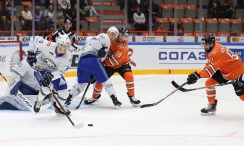 Отчет о матче КХЛ «Амур» — «Барыс» 1:3