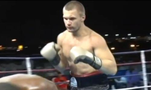 Видео нокаута за 115 секунд, или Как 21-летний казахстанский супертяж дебютировал в профи