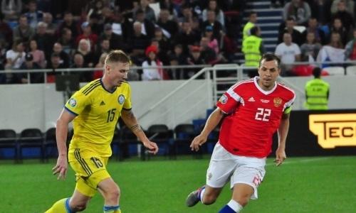 «Вопреки ожиданиям». Белорусское СМИ оценило борьбу Казахстана в матче с Россией