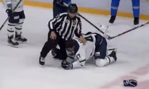Видео драки, или Как казахстанский капитан фарм-клуба «Барыса» выбил глаз сопернику