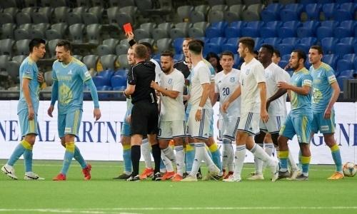 Футболисты «Астаны» и «Тараза» получили длительные дисквалификации