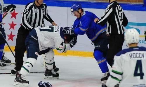 Тренд Рыспаева. Почему казахстанские хоккеисты предпочитают бить по морде, а не по шайбе