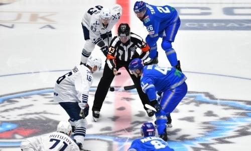 «Адмирал» — «Барыс»: где, когда и во сколько смотреть трансляцию матча КХЛ