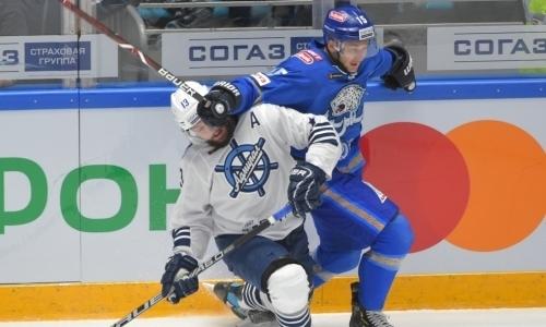 Букмекеры оценили шансы «Барыса» взять реванш у «Адмирала» в выездном матче КХЛ