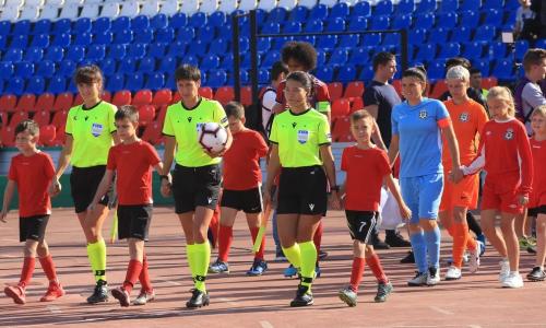 Казахстанские арбитры отработали на игре с участием победителя Лиги Чемпионов