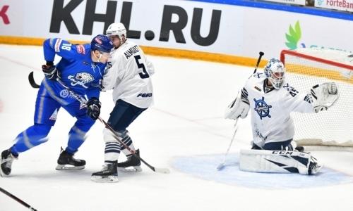 Неприятно. «Барыс» вместо реванша безвольно проиграл «Адмиралу» на старте нового сезона КХЛ