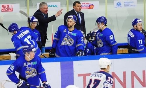 «Удачное завершение серии». Тренер «Номада» — о матче с «Соколом»