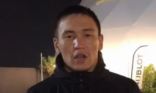 Небитый казахстанский боксер высказался о победе нокаутом над чемпионом Африки
