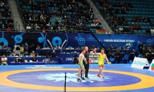 Казахстанцы прошли в полуфинал на чемпионате мира по борьбе в Нур-Султане