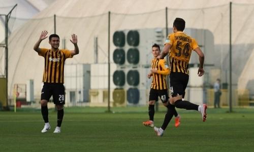 «Кайрат-Жастар» обыграл «Алтай» в матче Первой лиги