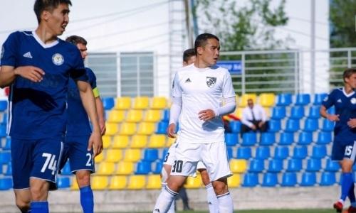 «Кыран» и «Жетысу Б» не выявили победителя в матче Первой лиги