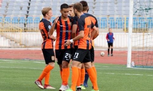 «Шахтер-Булат» удержал победу в матче Первой лиги в Актобе