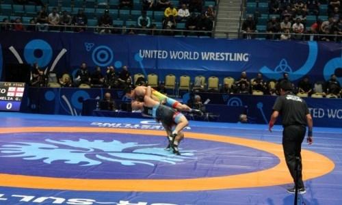 Борцы в олимпийских весах из Казахстана уступили своим оппонентам на ЧМ-2019
