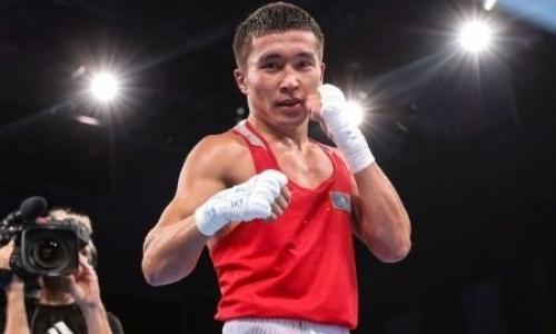 Чемпион мира из Казахстана побил призера Олимпиады на старте ЧМ по боксу