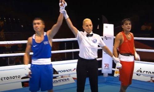 Видео боя, или Как чемпион мира из Казахстана побил призера Олимпиады в Рио на ЧМ-2019