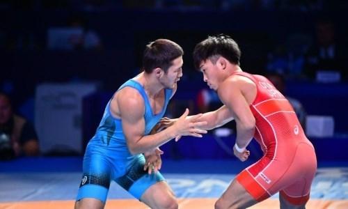 Борец греко-римского стиля из Казахстана стал бронзовым призером чемпионата мира по видам борьбы в Нур-Султане
