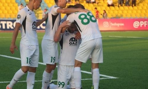 Гол Пиззелли помог «Актобе» победить «Атырау» в матче КПЛ