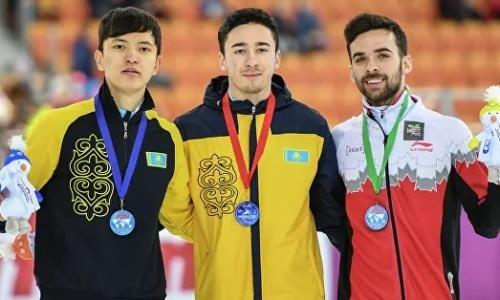 Лидер сборной Казахстана по шорт-треку рассказал о триумфальном возвращении после травмы
