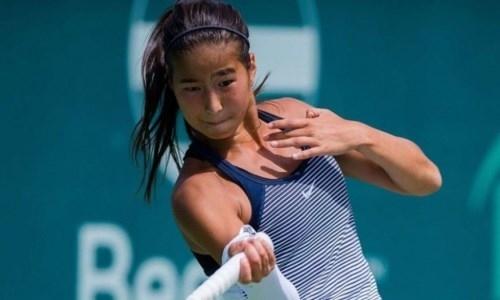 Казахстанка стала абсолютной победительницей турнира ITF в Китае