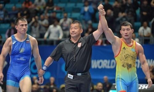 Казахстанец победил двукратного олимпийского чемпиона из России и сотворил главную сенсацию ЧМ-2019