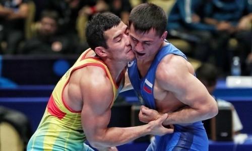 Казахстан завоевал вторую лицензию за день в борьбе на Олимпиаду-2020