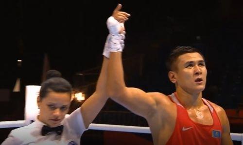 Видео боя, или Как чемпион Азии из Казахстана побил американца за выход в четвертьфинал ЧМ-2019