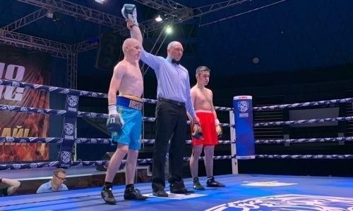 Непобежденный казахстанец неожиданно не смог нокаутировать дебютанта