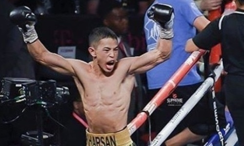 Стал известен гонорар непобежденного казахстанца за нокаут в первом раунде в андекарде Фьюри